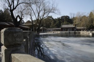 Lago no Palácio de Verão